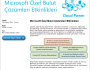 Microsoft Özel Bulut ÇözümleriEtkinlikleri